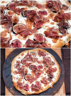 Make a sizzling and delicious dinner with this amazing Fig and Prosciutto Pizza with Balsamic Drizzle! It's out of this world!