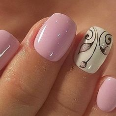 What manicure for what kind of nails? - My Nails Ombre Nail Designs, Nail Art Designs, Nails Design, Nail Designs Spring, Stylish Nails, Trendy Nails, Nagellack Design, Pretty Nail Art, Nagel Gel