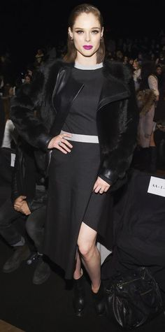 Fall/Winter 2015 Front-Row Favorites - Coco Rocha from #InStyle