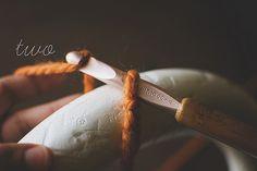 crochet wreath tutorial