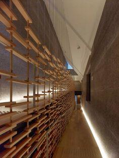 Modern Architecture. -  Momofuku Ando Center / Kengo Kuma & Associates, Japan.