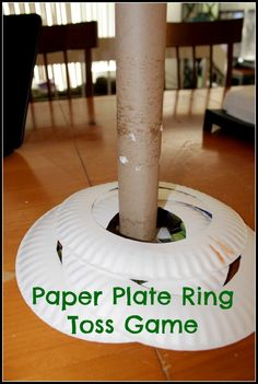 Paper Plate Ring Toss Game | DiscountQueens.com