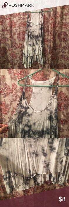 AE Soft and Sexy Tie Dye Tank. Size Xl. AE Soft and Sexy Tie Dye Tank. Size Xl. 95% viscose 5% elastane. American Eagle Outfitters Tops Tank Tops