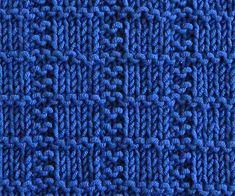 Ravelry: Designs by Cecilia Fameli Knitting Squares, Dishcloth Knitting Patterns, Knit Dishcloth, Crochet Blanket Patterns, Knitting Stitches, Stitch Patterns, Sweater Patterns, Knitted Washcloths, Knitted Blankets