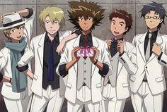 Toei Animation, Digimon Adventure, Koushirou Izumi, Jou Kido, Yamato Ishida