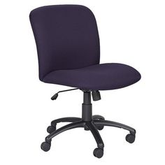 Pin it :-) Follow us :-)) AzOfficechairs.com is your Officechair Gallery ;) CLICK IMAGE TWICE for Pricing and Info :) SEE A LARGER SELECTION of  big and tall office chair at http://azofficechairs.com/category/office-chair-categories/big-and-tall-office-chair/ - office, office chair, home office chair -  Safco Uber Big and Tall Mid Back Chair, Blue « AZofficechairs.com