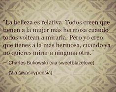 #La_Belleza_Es_Relativa.  #Esa #Perfección #En #Unas #Letras.