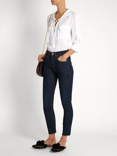 Click here to buy Re/Done Originals High-rise skinny-leg jeans at MATCHESFASHION.COM
