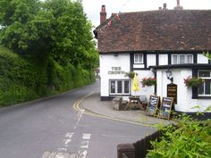 Shoreham (Kent) is an idyllic village, very similar to 'Aldwyck' fictitious setting in Visions