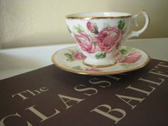 Lady Margaret Queen Anne China - Teacup and Saucer. $25.00, via Etsy.