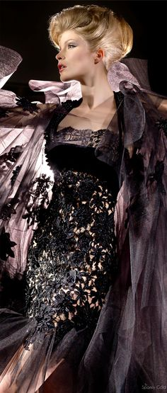 Blanka Matragi (One of my favorite designers :) ) 30th Anniversary ~ More beautiful couture dresses added daily @ https://www.pinterest.com/tanja62287/couture-dresses/