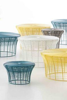 High iron stool ARAM by GAN By Gandia Blasco | #design Nendo @GANDIABLASCO