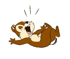 Chip 'n' Dale Animated Stickers by The Walt Disney Company (Japan) Ltd. Disney Names, Disney Mickey, Walt Disney, Funny Faces Images, Funny Pictures, Gif Animé, Animated Gif, Disney Drawings, Cartoon Drawings