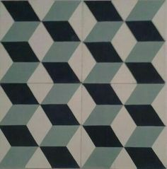 Geometric cement tile - Mod. 111