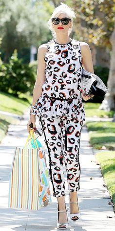 Gwen Stefani #fashion #outfits
