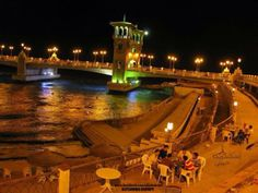 Winter doesn't stop ppl enjoying #Alexandria evenings ..... Peace & Love Be Upon #Egypt.....