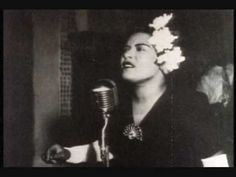Billie Holiday singing Fine and Mellow for the Negro Series A New World ...