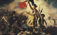 Resultado de imagen de libertad guiando al pueblo