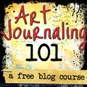 Art Journaling 101 - Kristal Norton: a free blog course with lots of videos!