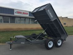 Designed for regular commercial work, the LE Series is built to get the job done…the right trailer at the right price…with available capacities starting at GVWR through GVWR. Work Trailer, Trailer Plans, Trailer Build, Utility Trailer, Welding Table Diy, Metal Bending Tools, Dump Trailers, Dump Truck, Garage Workshop