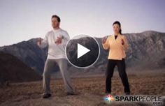 Awaken your senses, detoxify your body, and achieve a feeling of calm vitality and inner peace with this 15-minute Qi Gong routine for beginners! | via @SparkPeople #health #wellness #video