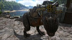 This Is What Ark: Survival Evolved's The Stomping Land T-Rex Sunglasses Look Like In-Game  http://gg3.be/2015/07/05/this-is-what-ark-survival-evolveds-the-stomping-land-t-rex-sunglasses-look-like-in-game/