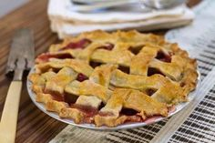 Classic Recipe:  Strawberry Rhubarb Pie   Recipes from The Kitchn