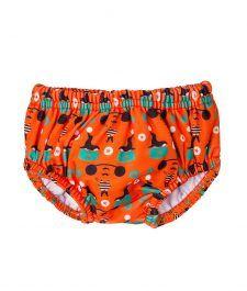 Nappy: Swim Nappy - No disposable nappy needed! Boys Swimwear, Toddler Boys, Trunks, Swimming, Orange, Green, Baby, Drift Wood, Swim
