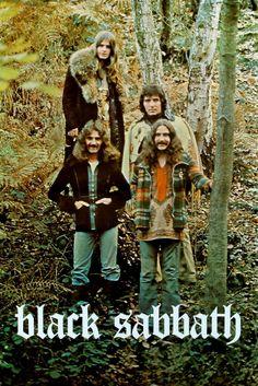 Mini Print of Black Sabbath - Vintage Promo Poster Hard Rock, Beatles, A Saucerful Of Secrets, Ozzy Osbourne Black Sabbath, Musica Metal, Classic Rock Bands, Heavy Metal Music, Rock Posters, Music Posters