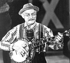 """Grandpa Jones ~ 100% Cherokee ~ Born Louis Marshall Jones in Henderson County, Ky., to sharecroppers, Jones was a singer, banjo picker, song writer and later in life television star on """"Hee Haw."""" Grandpa Jones was inducted into the Country Music Hall of Fame in 1978. He never retired and died in 1998."""