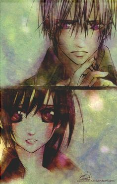 Vampire Knight - Yuuki and Zero