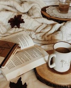 ⚜️Ana Rosa⚜️open book in cozy setting Cozy Aesthetic, Autumn Aesthetic, Brown Aesthetic, Chise Hatori, Tableaux D'inspiration, Cozy Cafe, Coffee And Books, Coffee Reading, Photo Instagram