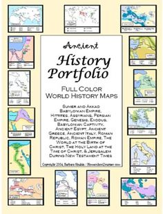 Ancient History Reference Maps