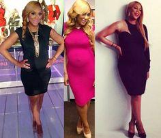 Bellyitch: Bump Watch: What Fab dress is Tamar Braxton Wearing Recently? Celebrity Maternity Style, Stylish Maternity, Maternity Wear, Maternity Fashion, Celebrity Style, Black Love, Beautiful Black Women, Pregnant Celebrities, Tamar Braxton
