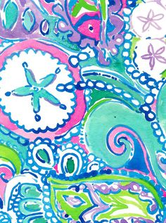 Lilly Pulitzer Shell Me About It Printed Lily