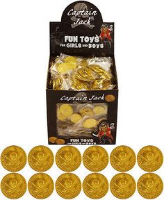 Childrens kids boys #pirate plastic gold treasure coins #party loot bag #fillers ,  View more on the LINK: http://www.zeppy.io/product/gb/2/172247008425/