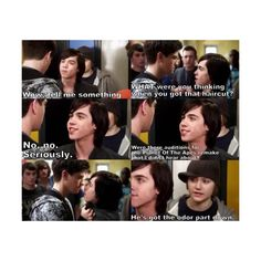 eli goldsworthy | Tumblr found on Polyvore featuring degrassi