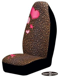 Awesome Cars girly 2017: Leopard Pink Heart Auto Seat Cover Girly Car Accessory  for the car Check more at http://autoboard.pro/2017/2017/04/12/cars-girly-2017-leopard-pink-heart-auto-seat-cover-girly-car-accessory-for-the-car/