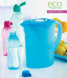 Tupperware Water Bottles & Purifier 50% off! Sale ends tomorrow!