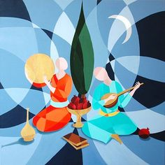 ♥ The Yalda Night (The longest night of the year - in the Iranian culture) - Mahnaz Piroozfar