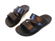 Leather Sandals GREEK Men's Shoes Thongs Flip by Sandalimshop, $49.99