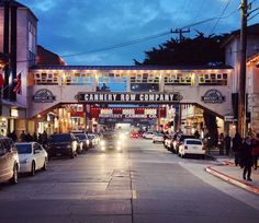 Cannery Row, Monterey, California / The ultimate itinerary for an epic Big Sur road trip / A Globe Well Travelled