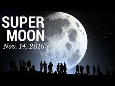 SUPER MOON - 14TH NOVEMBER 2016 - LARGEST In 70 Years - Mark Biltz - YouTube
