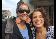 Subini Annamma (left) is just one of the people using her Twitter timeline to show what real professors look like.