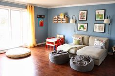 The Living Room/Girls' Playroom - Designer Trapped in a Lawyer's Body
