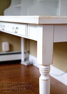 Custom Built Farmeru0027s Table Home Office Desk. Furniture, Furniture Refinishing,  Custom