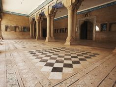 Chess was invented in India- called Chaturanga...Game Hall in Hindu Palace in India