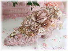 Embellished Victorian Shoes by mildredlanni on Etsy