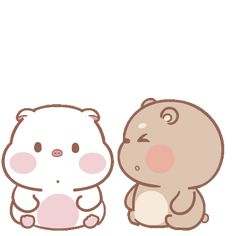 Cute Cartoon Images, Cartoon Gifs, Cute Love Gif, Cute Love Couple, Love Wife, Line Sticker, I Wallpaper, Cute Characters, Cute Stickers