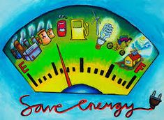 Save Energy- poster ideas for NIFT, NID, CEED Entrance Exam